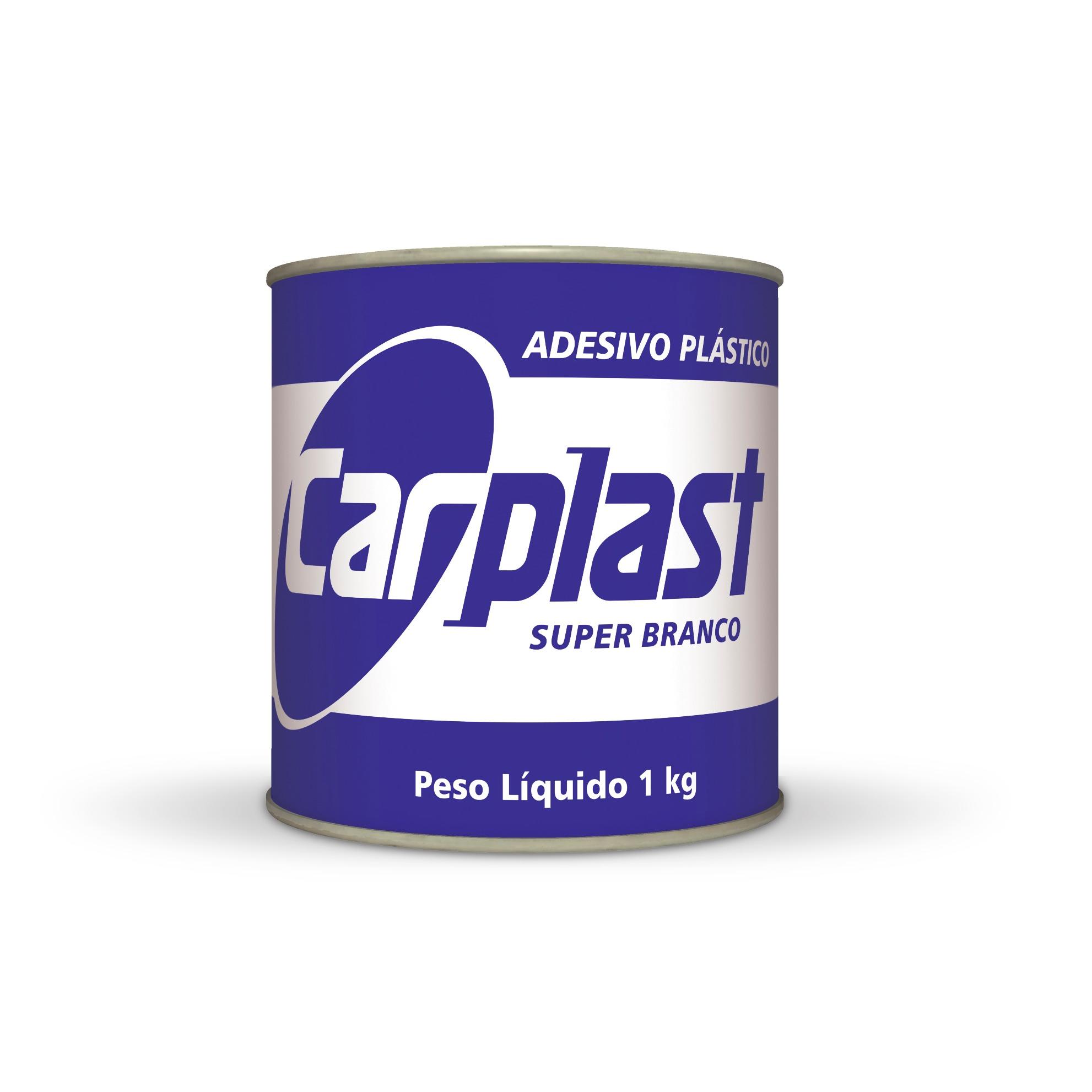 Adhesivo Plástico Blanco Carplast